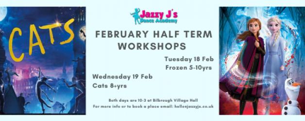 February 2020 Half Term Workshops