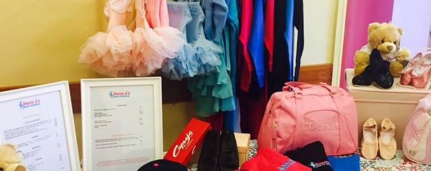 Pop up uniform shop – AT CLASSES THIS WEEK